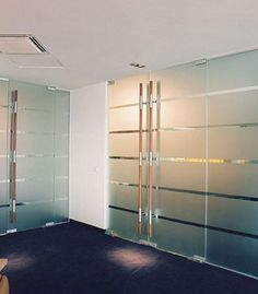 The architectural use of sandblasting, Engraving and Etching can enhance the overall look of homes, offices etc and can particularly compliment the appearance of any frameless glass partition and doors.