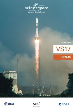 Not even one hour to go until Arianespace lauches SES-15