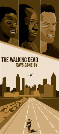 The Walkind Dead Inspired Collage Illustration by TheGeekerie
