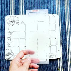 Set yourself up for success. It doesn't have to be hard. Invest in a few quality tools to assist your practice. The Quick Monthly Maker Stencil creates monthly calendar spread in under 3 minutes. No counting, no mistakes. #bulletjournal #monthlylayout March Bullet Journal, Connected Learning, Moleskine, Scribble, Getting Organized, Journal Ideas, Mistakes, Bujo, Counting