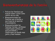 Bienaventuranzas de la familia Felices las familias que buscan tener a Dios como centro de su vida. Bienaventuradas la...