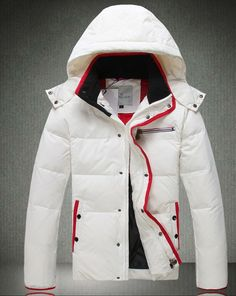 Moncler White Down Jacket Winter Coat