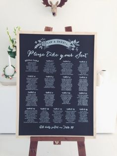 10 Unique Seating Chart Ideas | Simply Peachy Wedding Blog