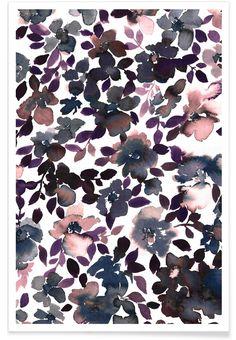 Sophia Dusty Pink en Affiche premium par Amy Sia   JUNIQE