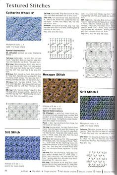 21 - sas33ss - Picasa Web Albums - The Harmony Guides 300 Crochet Stitches Volume 6 Includes basic stitches, lace patterns, motifs, filet, clusters, shells, bobbles, loops