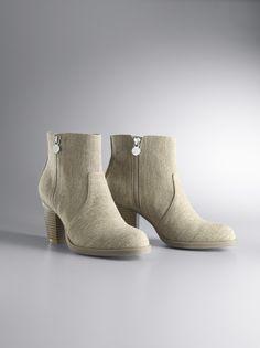Simply Vera Vera Wang Canvas Ankle  Boots. #Kohls