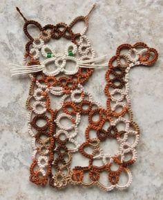 Angels, Crosses, Doilies, Earrings, Motifs, Cat, Dog, Elephant, Giraffe, Bracelet, Pendants, Easter Egg and Edging