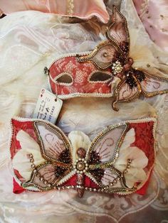 """Victorian Butterfly Bra """"Time to Fly"""""""