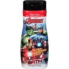 Avenger Super-Charged Cherry Scented Bubble Bath, 24 fl oz