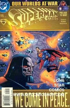 Superman The Man of Steel (115) We Come in Peace DC comics
