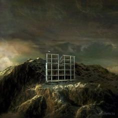 Marmont Hill All or Nothing Surreal Artists Mixed Media Print on Canvas, Size: 24 inch x 24 inch, Multicolor