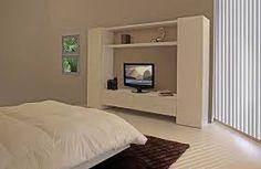 Resultado de imagen para muebles para televisor en dormitorios