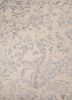 Windsor Halon Antique White/Silver Area Rug