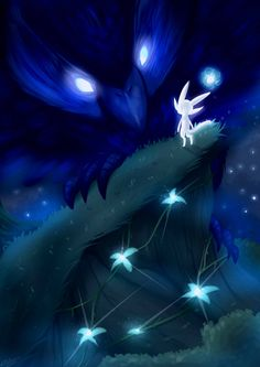 Ori and the Blind Forest fan art by vavacung on @DeviantArt
