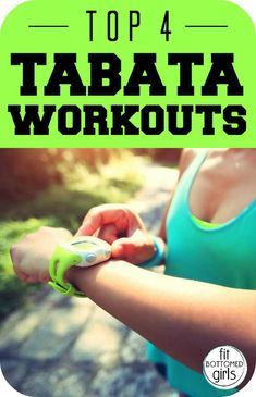 Dr. Michele Olson shares her top four Tabata workouts that are excellent for all abilities! | Fit Bottomed Girls