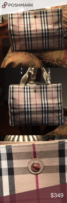 73ae5f25503 New Burberry tote with dust bag . This beautiful new Burberry Of London tote  bag.