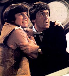Patrick Troughton as the second incarnation of The Doctor and Jamie