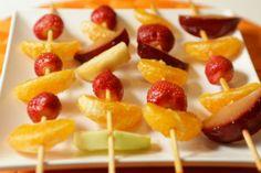 Espetinho de frutas do Ducasse - Paladar - Estadao.com.br