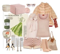 """""""Cocooning"""" by juliabachmann ❤ liked on Polyvore featuring Miu Miu, Gucci, Marni, Missoni, Alice + Olivia, Ermanno Scervino, Gianvito Rossi, Wool and the Gang and Jimmy Choo"""