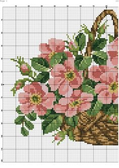 Gallery.ru / Фото #5 - 147 - kento Christmas Embroidery Patterns, Needlepoint Patterns, Counted Cross Stitch Patterns, Cross Stitch Designs, Cross Stitch Embroidery, Cross Stitch Fruit, Cross Stitch Rose, Cross Stitch Flowers, Stitch And Angel