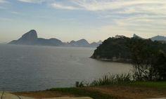 Rio de Janeiro, mais lindo visto de Niteroi.
