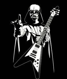 Dark Guitarist #gibson flying V