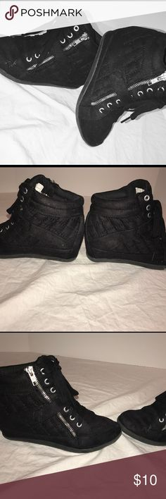 JUSTICE WEDGES JUSTICE WEDGES Size 3 - Perfect Condition - Only worn a few times Justice Shoes Sneakers