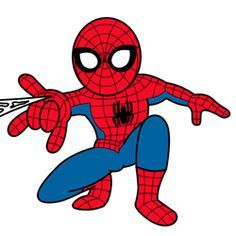 spiderman clip art visit to grab an amazing super hero shirt now rh pinterest com spiderman clipart pictures spiderman clipart pictures