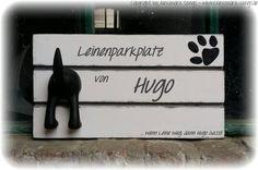 Leinenhalter, Leinenparkplatz, Hundegarderobe von Handgemachte Holzarbeiten & dekorative Geschenke by Alexandra Sangs auf DaWanda.com