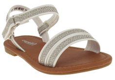 Capelli New York Mesh Glitter Knit Detail Toddler Girls Sandal -- Insider's special review you can't miss. Read more  : Girls sandals