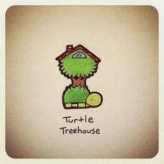 Turtle Treehouse #turtleadayjune - @turtlewayne- #webstagram