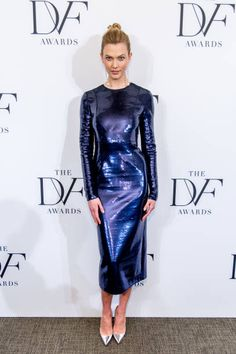 Karlie Kloss attends the 2017 DVF Awards at United Nations on April 6 2017 in New York City