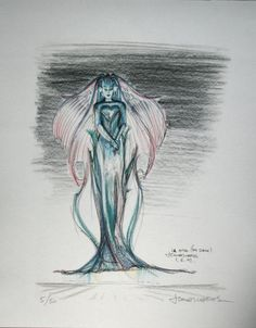 The 5th Element - The Fifth Element - concept art - The Diva Plavalaguna