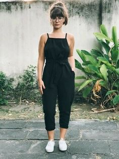Winter Fashion Trends 2020 for Casual Outfits Trendy Summer Outfits, Casual Outfits, Cute All Black Outfits, Outfit Summer, Vetement Fashion, Mein Style, Mode Outfits, Boho, Mode Inspiration