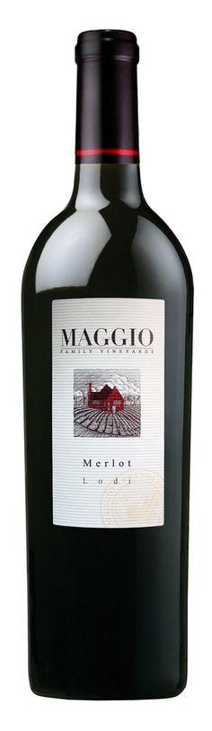 Maggio Merlot, from Lodi     Very good