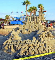 Every summer the U.S. Open Sandcastle Competition is held in Imperial Beach, California