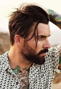 19 The Hottest Hipster Haircut Ideas To Reveal Your Inner Mod - Mens hairstyles medium - Top 10 Haircuts, Popular Haircuts, Long Haircuts For Men, Medium Haircuts For Men, Medium Hair Cuts, Long Hair Cuts, Medium Curly, Mens Hair Medium, Long Hair For Men