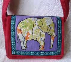 Diana bag with vintage fabric £20.50