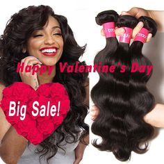 Longqi Beauty Brazilian Virgin Body Wave Weft 3 Bundles 100% Unprocessed Human Hair Weave Remy Wavy Wholesale Hair Products (14 16 18inch, Natural Color) * Quickly view this special  product, click the image : Hair extensions