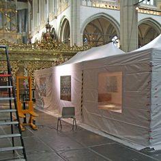 "Museuminrichting: ""Andy Warhol - The Last Supper"" - Nieuwe Kerk Amsterdam"