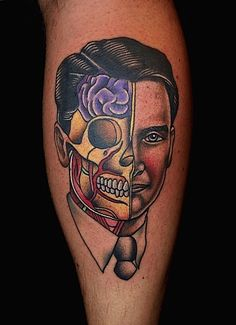 Artistic Portrait Tattoos by Pietro Sedda