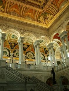 More of the Interior of the Library of Congress