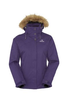 The perfect combination of sophisticated style and mountain engineered technology. The Manhattan Jacket is sets a new standard for women's ski jackets. Featuring Defender twill fabric and a beautiful fur hood that offer style and functionality.