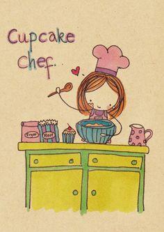 Cupcake Chef by Pinkie-Perfect.deviantart.com on @deviantART