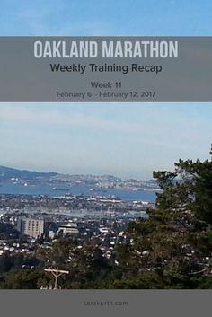 My training recap for April's Oakland Marathon. This week it's all about water: rain, water-proof clothing, and drinking enough. Read the full recap on my blog.