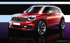 The design of the new MINI Countryman - http://www.bmwblog.com/2016/10/28/design-new-mini-countryman/
