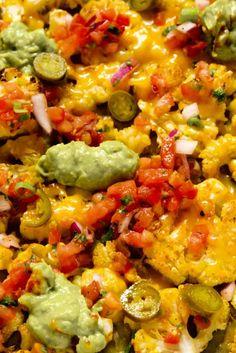 Cauliflower Nachos  - Delish.com