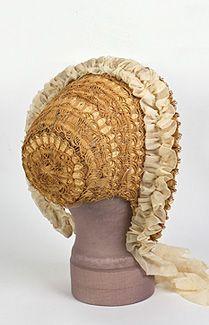1850's bonnets | 1850's fashion
