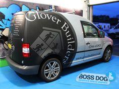 Vans | Boss Dog | Vinyl wrap, Car wrap, Vehicle graphics