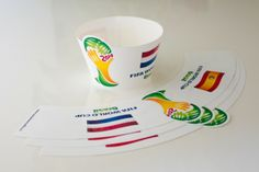 FIFA World Cup 2014 Cupcake Wrapper